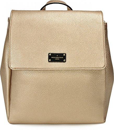 PAULS BOUTIQUE, ABBEY, sacs à main, sacs à dos, sacs à dos, sacs de loisirs, or léger, 25 x 32 x 14 cm (L x H x P)