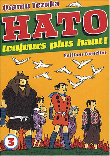 Hato - Toujours plus haut ! Edition simple Tome 3