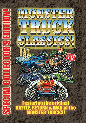 MONSTER TRUCK CLASSICS - Special Collector's Edition! - Monster-truck-dvd