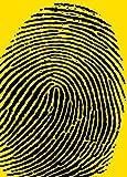 Unbekannt Poster 50x 70cm Fingerabdruck/Finger Print/Fingerabdruck Atelier Neue Bilder