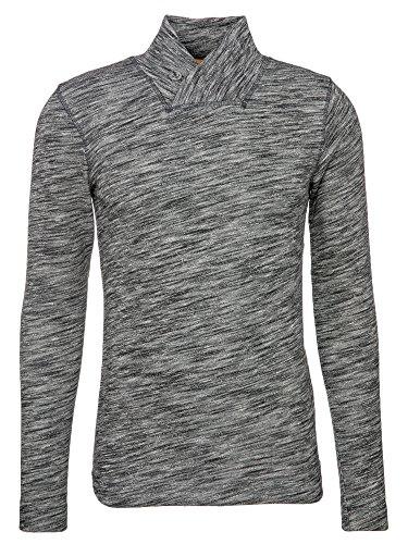 Boss Orange Herren T-Shirt Woolish Anthrazit (012)