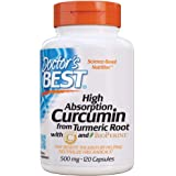Doctor's Best Curcumin C3 Complex With Bioperine (500 Mg) Capsules 120-count