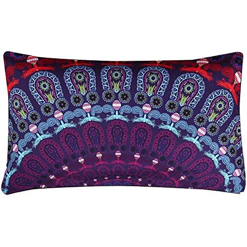 Federe,WINWINTOM Indiana Mandala Floor Cuscini Rotonda Bohemian Pillow Copertura ,C