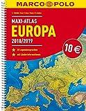 MARCO POLO Maxi-Atlas Europa 2018/2019 (MARCO POLO Reiseatlanten) -