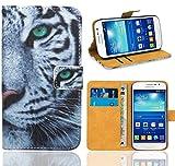FoneExpert Samsung Galaxy Grand Plus / Grand Neo - Etui Housse Coque en Cuir...