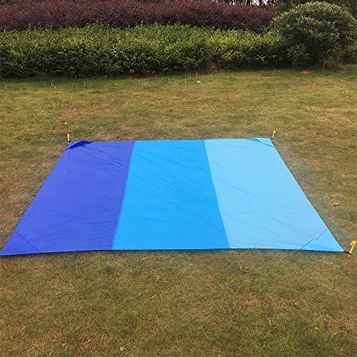 Mafiti Manta Impermeable de 210 x 200cm. Ideal para playa, Picnic, acampada...