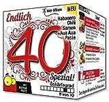 Endlich 40 SPEZIAL - Eine tolle Geschenkidee zum 40. Geburtstag - ein witziges und originelles Geschenk für scharfe Männer und Frauen