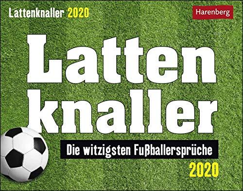 Lattenknaller Humorkalender. Tischkalender 2020. Tageskalendarium. Blockkalender. Format 14 x 11 cm