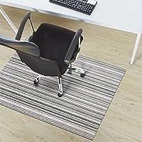 casa pura® Bologna Non Slip Modern Floor Protector | For Desk Chairs etc. | 90x120cm | 6 Sizes, 8 Designs