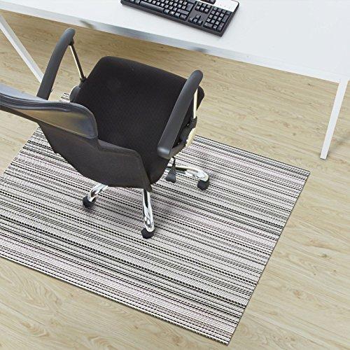 Design Bodenschutzmatte Bologna in 6 Größen | dekorative Unterlegmatte für Bürostühle oder Sportgeräte (120 x 90 cm)