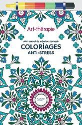 Art-thérapie : Mon carnet de création nomade: Coloriages anti-stress