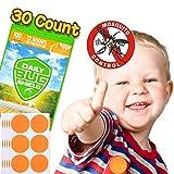 Mückenschutz-Aufkleber aus natürlichem Pflanzenessenz 30 Moskitoschutz Stickern effektiver Schutz 100% sicher für Kinder Neugeborene und schwangere Frauen ...