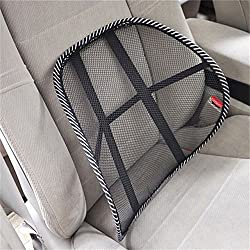 1pc Cushion Cool Vent Massage Cushion Mesh Back Lumber SupportCar Office Truck Chair Seat Back Lumbar Support Mesh Ventilate