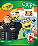 Crayola 04-0056-0-002 - Minions - Color und Stickerbook