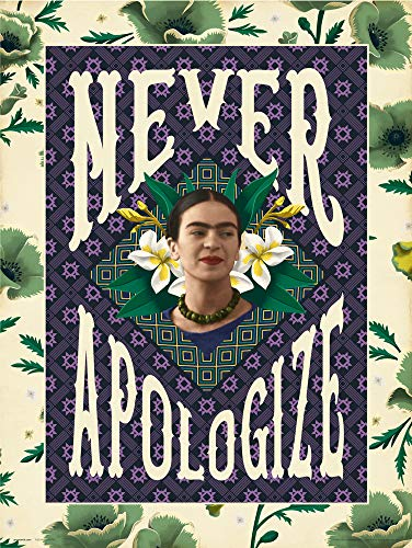 Grupo Erik Print Frida Kahlo Never Apologize