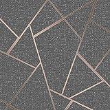Fine Décor FD42283Papier peint motifs géométriques, cuivre...