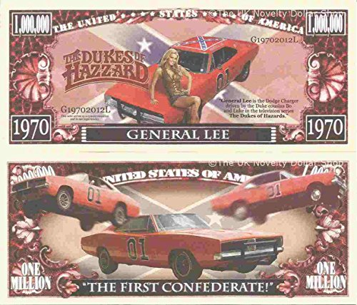 novelty-dollar-the-dukes-of-hazzard-general-lee-million-dollar-bills-x-4-bo-luke-dodge-charger
