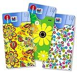 cardbox ✿✿✿ FRÜHLING / SPRING ✿✿✿ set /// Motive: Frühlingsblumen / Blumen /// 3er SET /// Hübsche Hüllen für Geschenkkarten oder ec-Karten