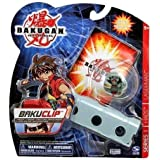 Bakugan - Jeux de Figurines - Boosters Packs - Bakuclip New Vestroia + Bakugan Gris