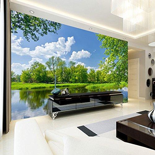 Chan-Mei 3D sfondo del paesaggio paesaggio natura giardino moderno ...