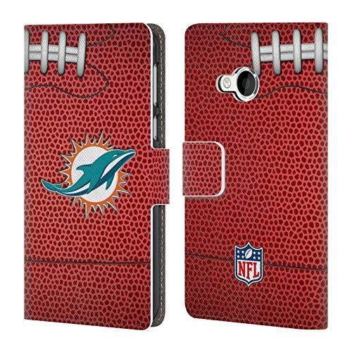 fizielle NFL Fußball 2018/19 Miami Dolphins Brieftasche Handyhülle aus Leder für HTC U Play/Alpine ()