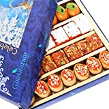 [Sponsored Products]Ghasitaram Gifts Diwali Gifts Diwali Sweets - Assorted Sweets Box (200 Gms)