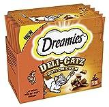 Dreamies Deli Catz Cat Treats with Chicken, 25 g