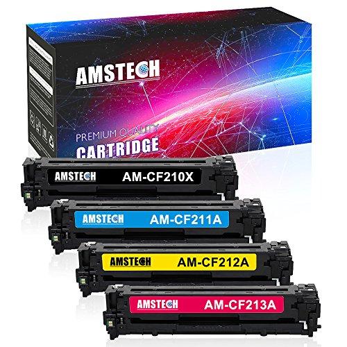 Best buy Amstech Pack Kompatibel für Toner 131X CF210XCF211A CF212A CF213A 131A CF210A Laserjet Pro 200