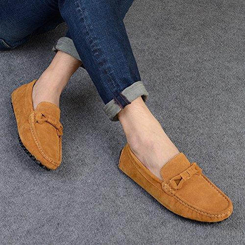 Icegrey Herren Mode Gehen Lässige Schuhe Halbschuhe Braun
