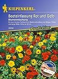 Kiepenkerl Beeteinfassungsmischung Rot + Gelb Saatband