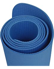 Onlymat Synthetic Yoga Mat, 180 cm x 60 cm x 4 mm(Blue)