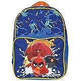 Angry Birds - Zainetto asilo e scuola bimbo Perletti. Chiusura superiore e tascone frontale con cerniera