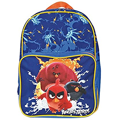 61Niv0jSZQL. SS416  - Angry Birds Mochila Infantil, BLU Elettrico (Azul) - 13618