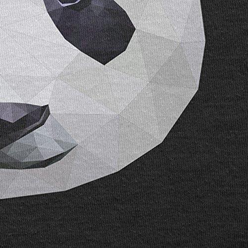 TEXLAB - Pandarum - Herren T-Shirt Schwarz