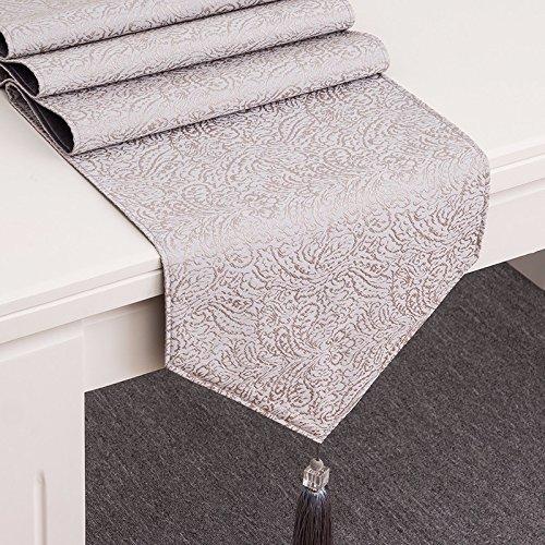 MAFYU modernen europäischen Tisch Flagge Teetisch Tisch fernsehschrank decken Tuch, 35x183cm, C (Chevron Tisch Decken)