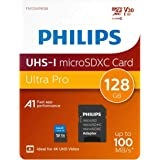Scheda microSDXC Philips 128GB Classe 10, UHS-I U3, 4K