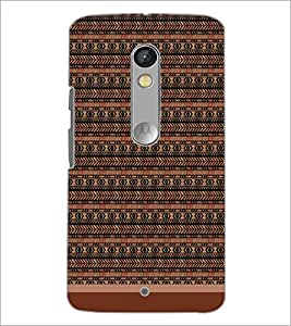 PrintDhaba Pattern D-1714 Back Case Cover for MOTOROLA MOTO X PLAY (Multi-Coloured)