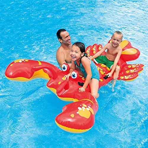 Kinder Schwimmspielzeug - Schwimmtiere - Schwimmfahrzeuge - Schwimmspielsachen mit Modellauswahl (Schwimmtier Hummer)