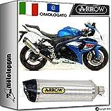 Arrow Auspuff Hom Racetech Aluminium Carby Suzuki GSX-R 100020141420151571791AK