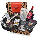 Paella-Box Nr. 2 mit Pfanne, Reis, Öl, Salz und Sangria (8-teilig)