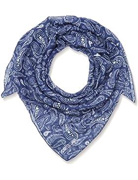 Hilfiger Denim Damen Schal Thdw Scarf 11, Blau (Ponly Print/Blue Depths 901), One size (Herstellergröße: OS)