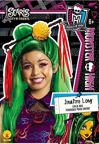 Perücke Jinafire Lange Monster High -