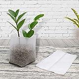200 PCS biologisch abbaubar Vlies Pflanze Sämling Taschen Stoff Grow...