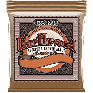 Ernie Ball Earthwood Phosphor Bronze Acoustic Guitar Strings