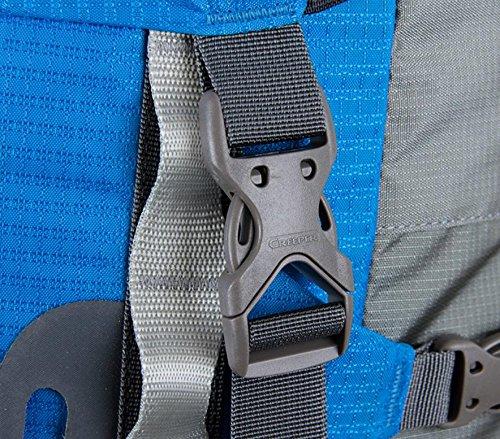 Taschen lose Langstrecken Wandern Camping Reisen Kletterrucksack Blue