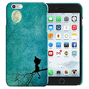 Theskinmantra Kitty moon Apple Iphone 6 panel/back cover