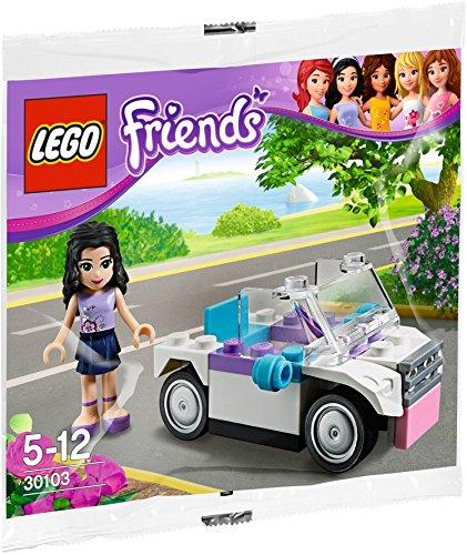 LEGO 30103 Friends - Figura Emma Coche Exclusiva