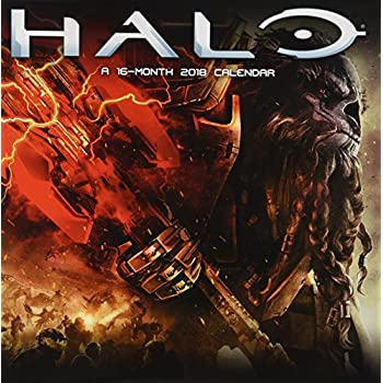 Halo Official 2018 Calendar - Square Wall Format