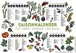 Saisonkalender für Obst, Gemüse und S...