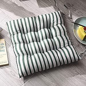 Chair cushion Cuscino Sedile Striscia Spessa,Quadrata Cotone